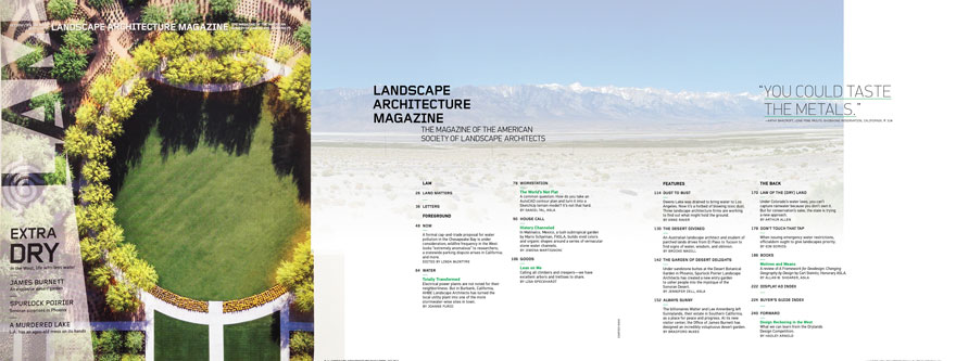 fall 2012 design reckoning in the west landscape architecture