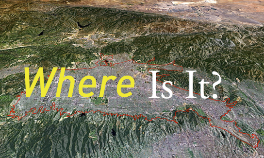 Upper Los Angeles River Watershed Area/ALI + ESRI