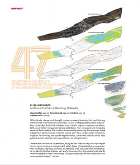 January 2013 Millenials Issue of Architect ALI Students Rhana Ahmadi, Eric Arm, and Jesse Cabildo