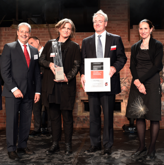 ALI co-directors at Holcim Awards Ceremony, September 18, 2014