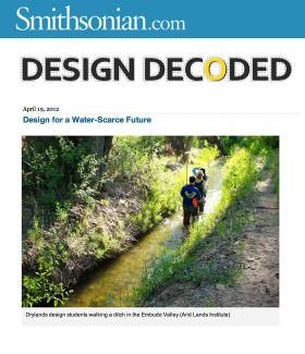Design for a Water Scarce Future, Design Decoded--Smithsonian.com