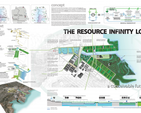 The Resource Infinity Loop: An Ecologically Regenerative City, CAF Merit Award Winner Geeti Silwal, Perkins + Will; Ritu Raj, Dahlin Group, professional, Berkeley, CA (T097)