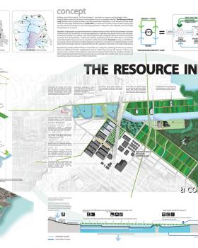The Resource Infinity Loop: An Ecologically Regenerative City, CAF Merit Award Winner Geeti Silwal, Perkins + Will; Ritu Raj, Dahlin Group, professional, Berkeley, CA (T097)