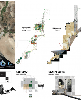 Quarter x ¼: Alternative Futures for Yuma and the Arid West, Andrew McConnico, Brian Schundler, Ellen Neises, advisor, University of Pennsylvania, Philadelphia, PA (T031)