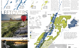 Leftovers: Productive Urban Landscapes and Gravel Pit Reclamation, Lauren Ewald, student; Jessica Canfield, advisor, Kansas State University, Manhattan, KS (T141)