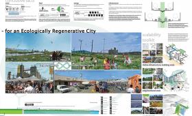 The Resource Infinity Loop: An Ecologically Regenerative City, CAF Merit Award Winner Geeti Silwal, Perkins + Will; Ritu Raj, Dahlin Group, professional, Berkeley, CA, (T097)