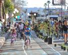 Bike influx begins.