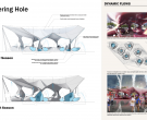 Watering Hole, John Frane, Hadrian Predock, professonials, Predock-Frane Architects, with Jordan Gearhart and Mini Chu, students, UCLA, Los Angeles, CA (T211)