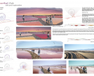 A Colorful Walk: Salt Pool Explorations for the Owens Valley  ALI Research Award Winner Ye Hua, Janet Yang Kiyoi, Jessie Kostosky, students; Alexander Robinson, advisor, University of Southern California, Los Angeles, CA (T218)