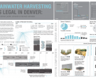 If Rainwater Harvesting was Legal in Denver: Retrofitting Denver Public Schools to Harvest Rainwater, Sarah Flynn, student, Kansas State University, Manhattan, KS, (T111)