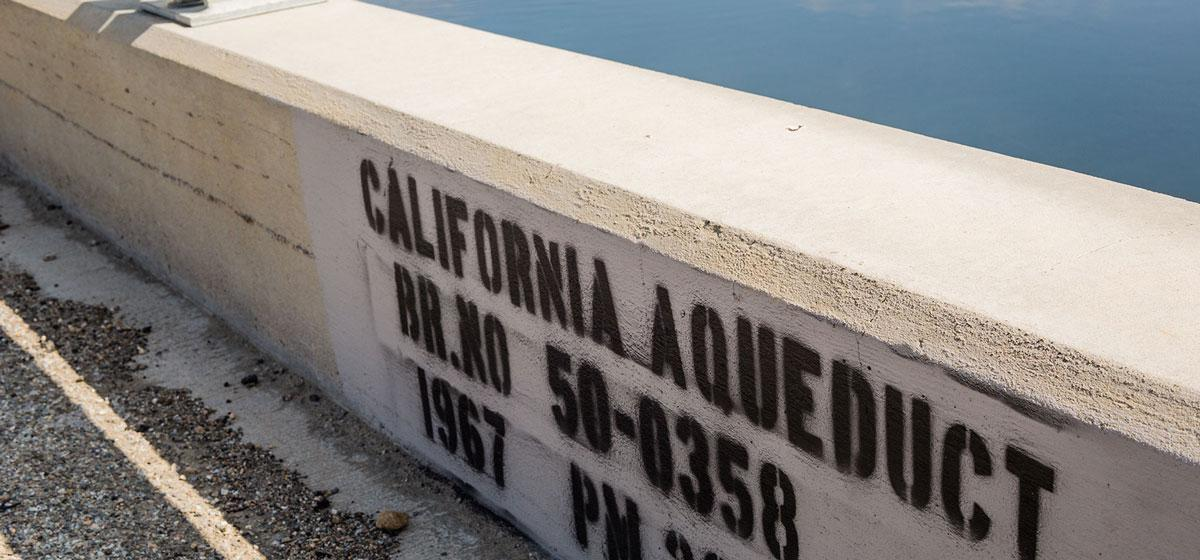 California Aqueduct @ Bridge 50.