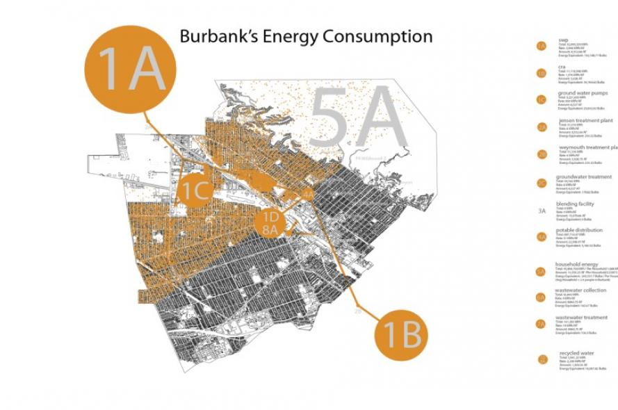 Burbank Water-Energy Mapping