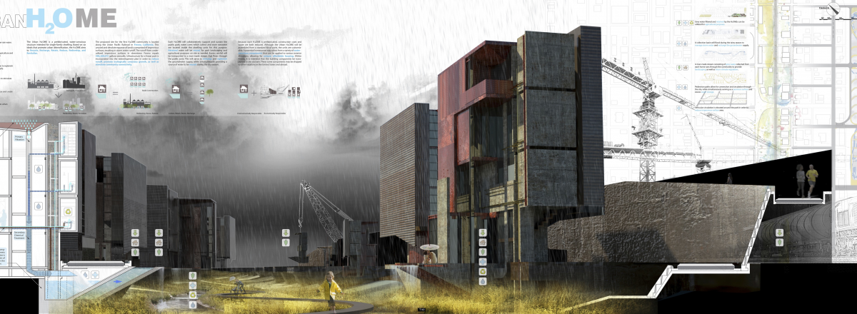 Urban H2OME, Drylands Design Competition entry, David Burwinkel, student, Ohio State.